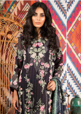 Sapphire Embroidered Messori Unstitched 3 Piece Suit Wild Gypsy - Autumn - Fall Collection