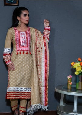 Spade Embroidered Lawn Stitched 3 Piece Suit C5BRL080719