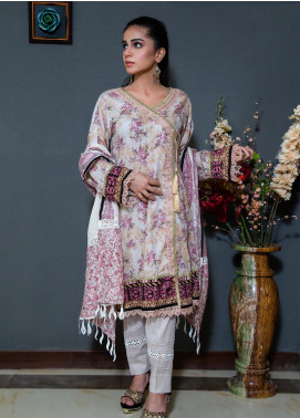 Spade Embroidered Lawn Stitched 3 Piece Suit C5CPL080719