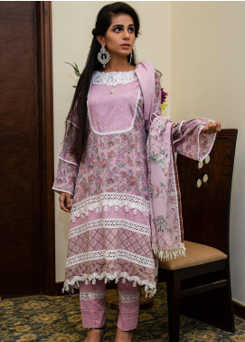 Spade Embroidered Lawn Stitched 3 Piece Suit C5LPL080719