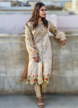 Spade Embroidered Cotton Stitched 3 Piece Suit C6GCZ-B2P17B