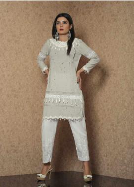 Spade Luxury Cotton Stitched Kurtis C9GC-07 GREY