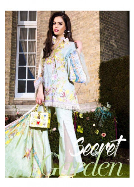 Saira Rizwan Embroidered Lawn Unstitched 3 Piece Suit SR17L 02