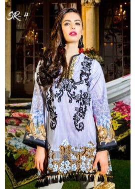 Saira Rizwan Embroidered Lawn Unstitched 3 Piece Suit SR17L 04