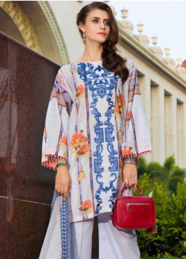 Subata by Regalia Embroidered Lawn Unstitched 3 Piece Suit SBR19L 1B - Spring / Summer Collection