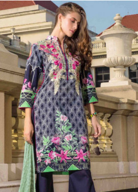 Subata by Regalia Embroidered Lawn Unstitched 3 Piece Suit SBR19L 3A - Spring / Summer Collection