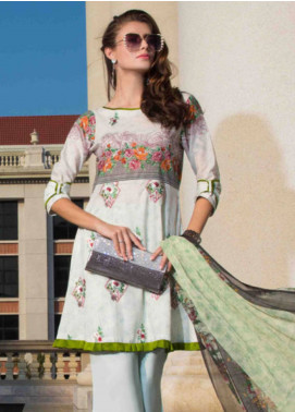 Subata by Regalia Embroidered Lawn Unstitched 3 Piece Suit SBR19L 4B - Spring / Summer Collection