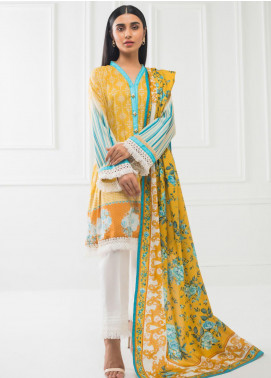 Subhata by Regalia Textiles Printed Lawn Unstitched 3 Piece Suit RG20SH SUBHATA-09 - Spring / Summer Collection