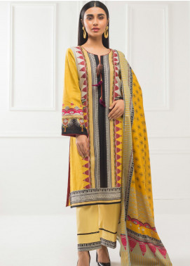 Subhata by Regalia Textiles Printed Lawn Unstitched 3 Piece Suit RG20SH SUBHATA-11 - Spring / Summer Collection