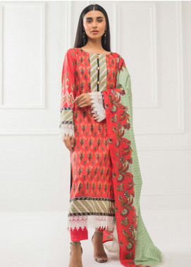 Subhata by Regalia Textiles Printed Lawn Unstitched 3 Piece Suit RG20SH SUBHATA-13 - Spring / Summer Collection