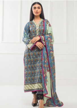 Subhata by Regalia Textiles Printed Lawn Unstitched 3 Piece Suit RG20SH SUBHATA-14 - Spring / Summer Collection