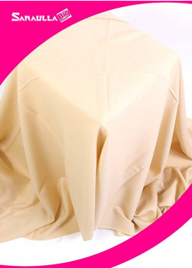 Off White Plain Pashmina Shawls for men - SW 245