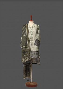 Tarzz Printed Lawn Unstitched 2 Piece Suit TZ19L 11A DEEP FOREST - Mid Summer Collection