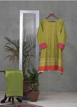 Tarzz Printed Cotton Unstitched 2 Piece Suit TZ19L 29 EVERGREEN TALE - Mid Summer Collection