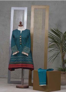Tarzz Printed Cotton Unstitched 2 Piece Suit TZ19L 30 SPICE MIST - Mid Summer Collection