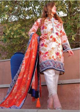 Tarzz Printed Lawn Unstitched 3 Piece Suits TZ20SL L20 43 - Summer Collection