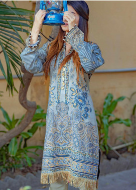 Tarzz Printed Lawn Unstitched Kurties TRZ20SL-2 L20-02 - Spring / Summer Collection