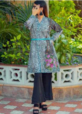 Tarzz Printed Lawn Unstitched Kurties TRZ20SL-2 L20-06 - Spring / Summer Collection