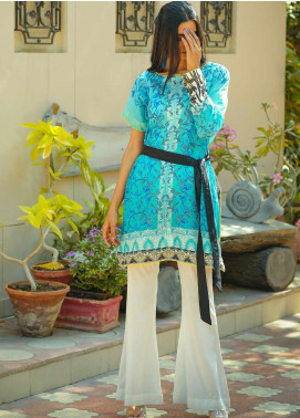 Tarzz Printed Lawn Unstitched Kurties TRZ20SL-2 L20-09 - Spring / Summer Collection