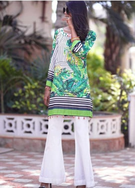 Tarzz Printed Lawn Unstitched Kurties TRZ20SL-2 L20-12 - Spring / Summer Collection