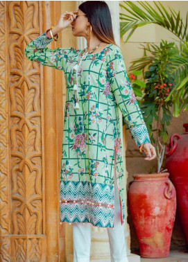 Tarzz Printed Lawn Unstitched Kurties TRZ20SL-2 L20-16 - Spring / Summer Collection