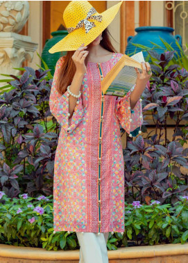 Tarzz Printed Lawn Unstitched Kurties TRZ20SL-2 L20-32 - Spring / Summer Collection