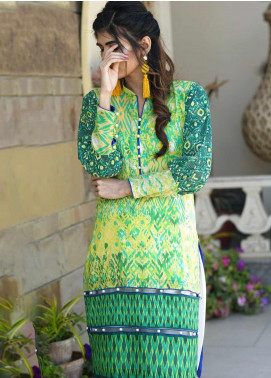Tarzz Printed Lawn Unstitched Kurties TRZ20SL-2 Z20-10 - Spring / Summer Collection