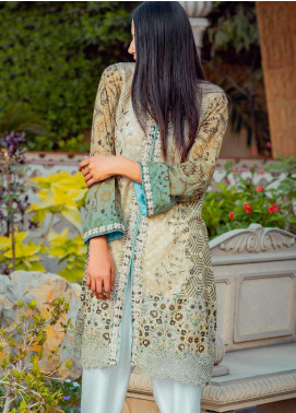 Tarzz Printed Lawn Unstitched Kurties TRZ20SL-2 Z20-12 - Spring / Summer Collection