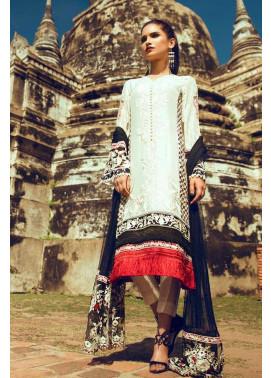 Tena Durrani Embroidered Silk Unstitched 3 Piece Suit TD16W Odyssey