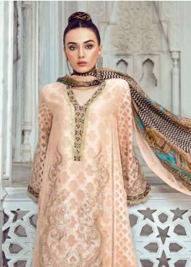 Tena Durrani Embroidered Lawn Unstitched 3 Piece Suit TD18L 5B - Spring / Summer Collection