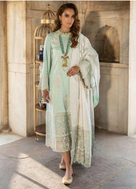 Tena Durrani Embroidered Jacquard Formal Collection Design # 8b 2019