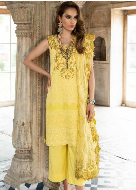 Tena Durrani Embroidered Chiffon Formal Collection Design # 9 2019