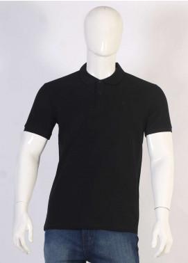 Sanaulla Exclusive Range Jersey Polo Men T-Shirts - Black TKM18S 1