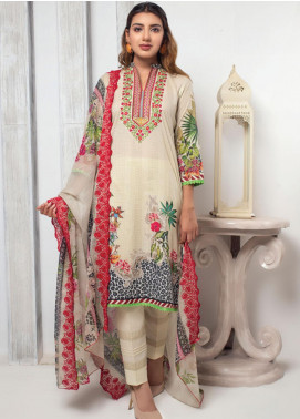 Trend Setter by MTF Embroidered Lawn Unstitched 3 Piece Suit MTF20T 10 - Spring / Summer Collection