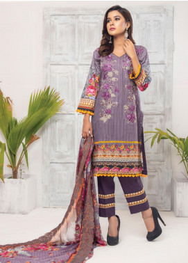 Trend Setter by MTF Embroidered Lawn Unstitched 3 Piece Suit MTF20T 11 - Spring / Summer Collection
