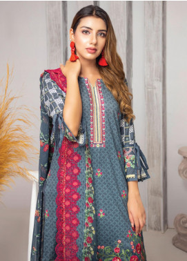 Trend Setter by MTF Embroidered Lawn Unstitched 3 Piece Suit MTF20T 2 - Spring / Summer Collection
