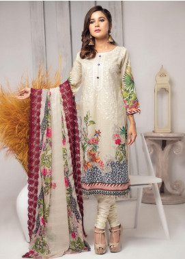 Trend Setter by MTF Embroidered Lawn Unstitched 3 Piece Suit MTF20T 5 - Spring / Summer Collection