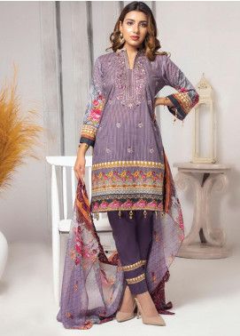 Trend Setter by MTF Embroidered Lawn Unstitched 3 Piece Suit MTF20T 6 - Spring / Summer Collection