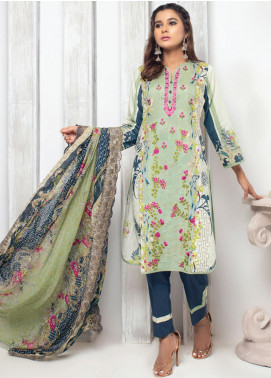Trend Setter by MTF Embroidered Lawn Unstitched 3 Piece Suit MTF20T 9 - Spring / Summer Collection