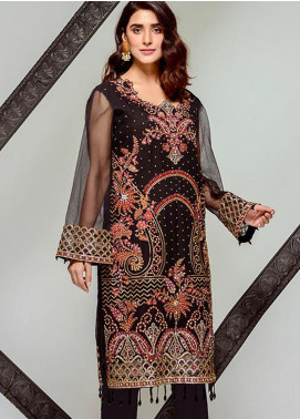 Tresor by Adan's Libas Embroidered Cotton Net Unstitched 2 Piece Suit AL20T D-16 - Festive Collection