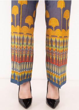 Kross Kulture Textured Silk Stitched Trousers TR-198075 B Digital Print
