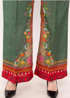 Kross Kulture Textured Silk Stitched Trousers TR-198076 B Digital Print