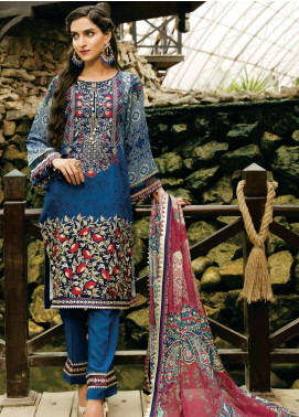 Tulip by Mohagni Embroidered Viscose Unstitched 3 Piece Suit TMO19W 05 - Winter Collection