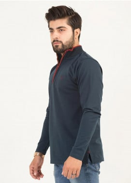 UC Clothing Jersey Full Sleeves T-Shirts for Men -  03 Ferozi