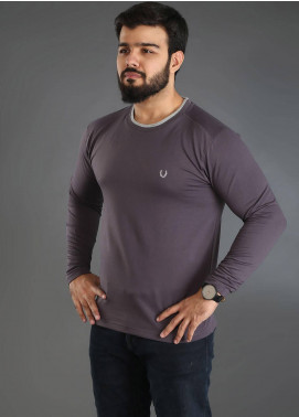 UC Clothing Jersey Plain Texture Men T-Shirts - Ash Grey UC18TS 04