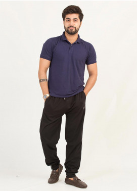 UC Clothing Lycra Casual Trousers for Men - 01 Black