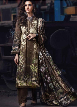 Umang by Motifz Embroidered Linen Unstitched 3 Piece Suit MT20UW 2562 Ash - Winter Collection