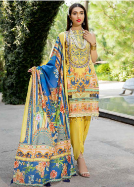 Umang by Motifz Embroidered Lawn Unstitched 3 Piece Suit UMT20L 2553 Vegas - Summer Collection