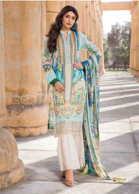 Umang by Motifz Embroidered Lawn Unstitched 3 Piece Suit MT20U 2513 - Summer Collection