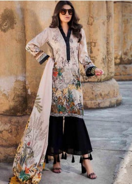 Umang by Motifz Embroidered Lawn Unstitched 3 Piece Suit MT20U 2514 - Summer Collection